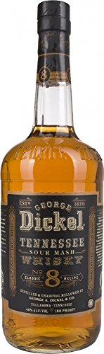 George Dickel Classic N° 8 Tennessee Sour Mash Whisky 40% Vol. 1L - 1000 ml