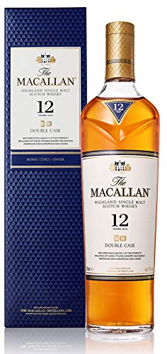 Macallan Double Cask, 12 Años Single Malt Whisky Escoces, 40%, 700ml