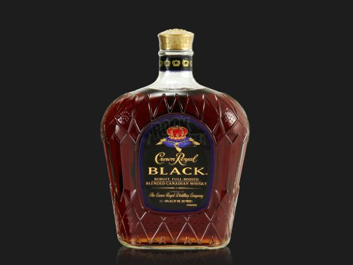 Crown Royal Black Blended Canadian Whisky 45% Vol. 1L In Giftbox - 1000 ml