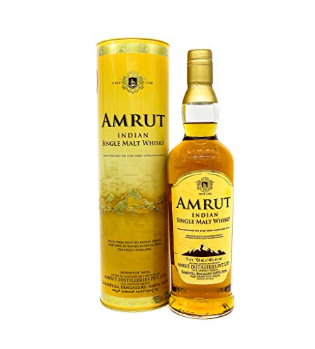 Amrut Amrut Indian Single Malt Whisky 46% Vol. 0,7L In Tinbox - 700 ml