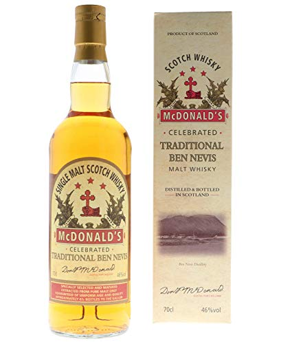 Ben Nevis Mcdonald'S Ben Nevis Traditional Highland Single Malt Whisky 46% Vol. 0,7L In Giftbox - 700 ml