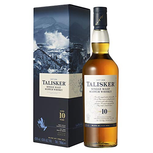 Talisker 10 Whisky Escocés, 700ml
