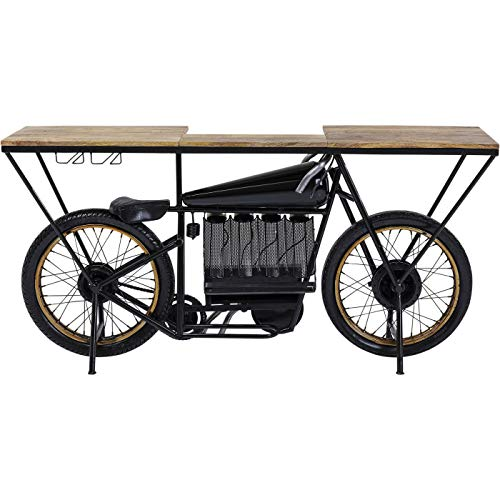 Kare Design - Mesa de bar para moto, color negro