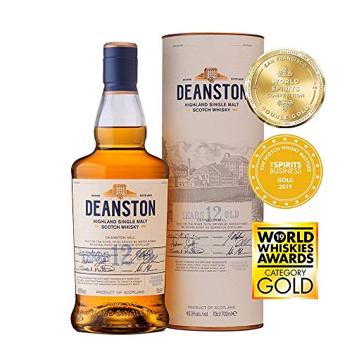 Deanston 12 Year Old Highland Single Malt Scotch Whisky 70 cl
